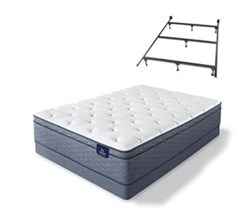 Mattress Box Spring Sets With Frame sleeptrue alverson ii fet