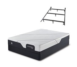 Serta Twin XL Size Luxury Firm Mattress and Box Spring Set W Frame icomfort cf1000 medium