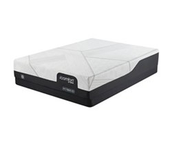 Serta Queen Size Hard Feel Luxury Firm Mattress  icomfort hybrid cf1000 medium